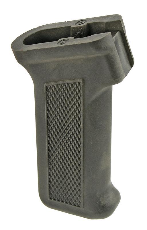 Pistol Grip, Rear, Raised Diamond Checkering, Black Plastic