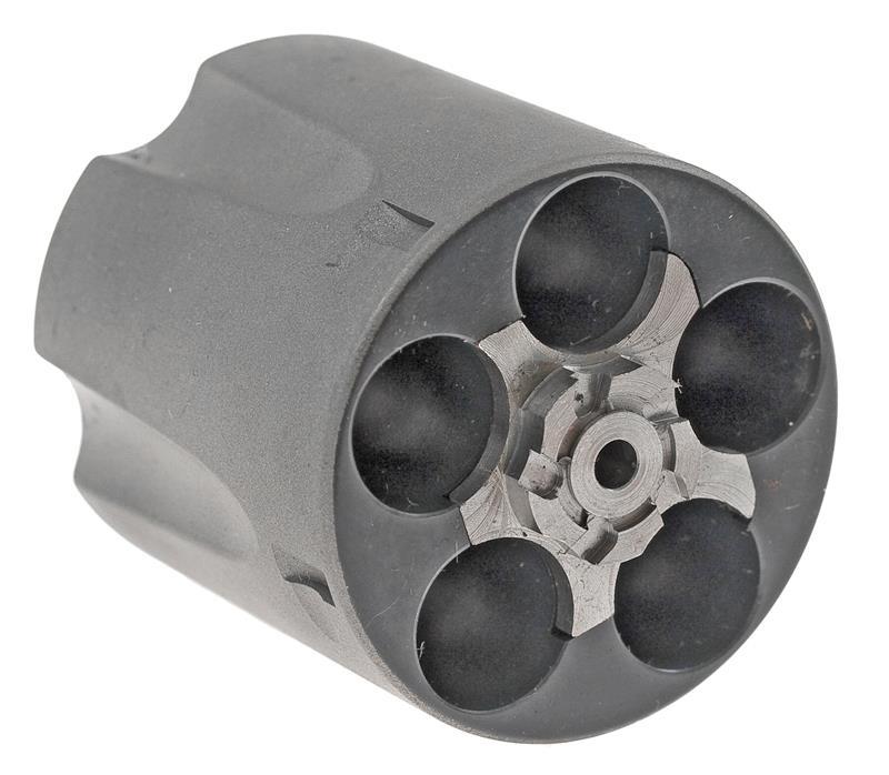 Cylinder Assembly, .44 Special, Fluted, 5 Shot, Titanium, Factory Original