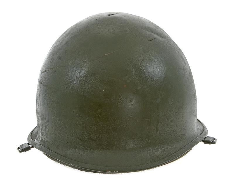 Israeli Armed Forces Helmet w/ Fiberglass Liner Assembly w/o Chin Strap, Used