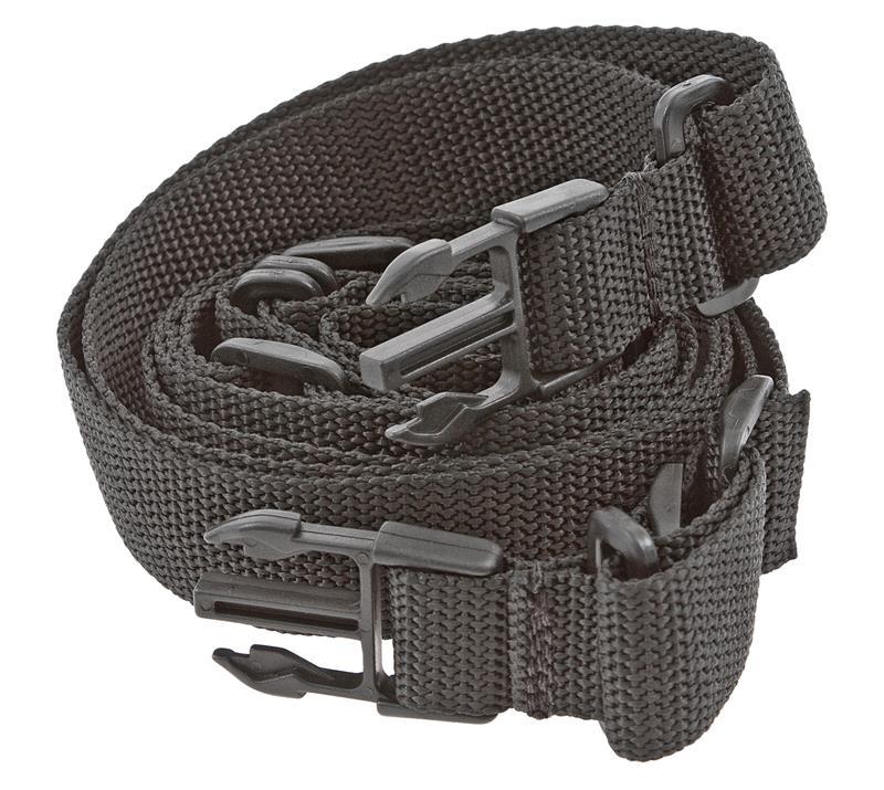 Sling, Tactical, Black Nylon, 1-1/4