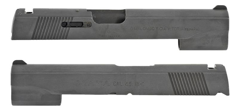 Slide, .45 ACP, Stripped, Compact, Matte Blued (Marked Llama Cal. .45 IX-C)