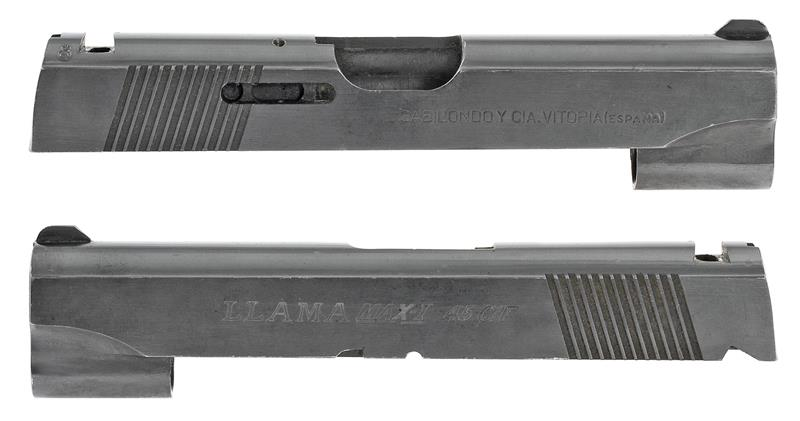 Slide, .45 ACP, Stripped, Compact, Blued (Marked Llama Max-I .45 C/F)