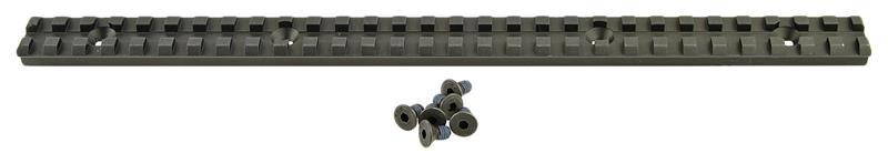 Picatinny Rail, Aluminum, 12