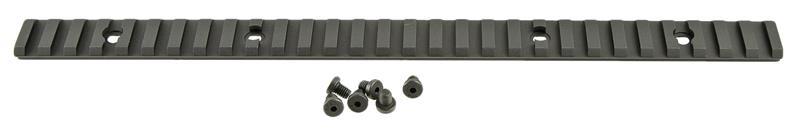 Picatinny Rail, Aluminum, Low Profile, 12