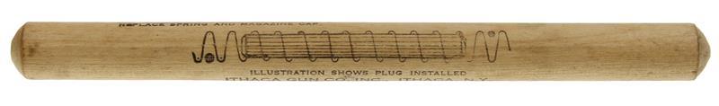Duck Plug, 20 Ga., Wood, Original