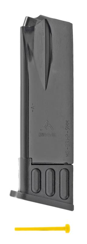 Magazine, 9mm, 10 Round, Blued, New (Mec-Gar)