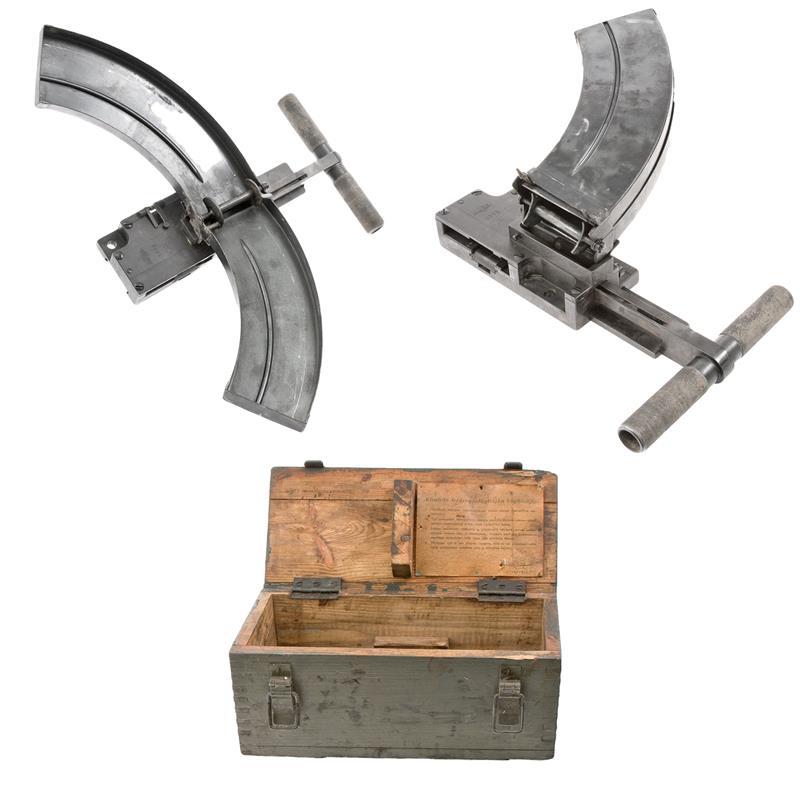 Belt Loader, Finnish Maxim, 7.62 x 54R, VG to Exc