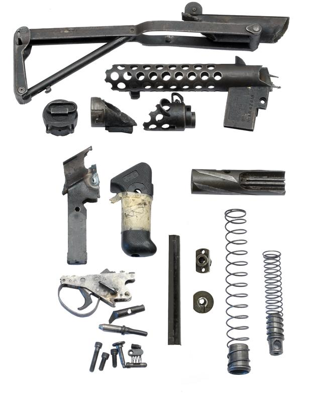 Parts Kit, 9mm, Less Barrel & Magazine, Used