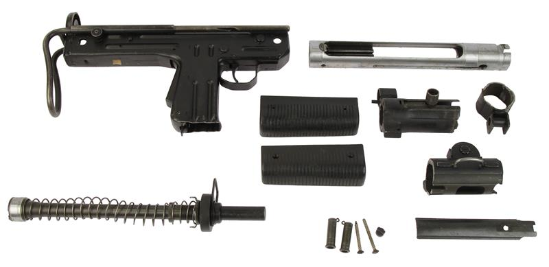 Parts Kit, 9mm, Less Receiver & Magazine, Used VG to Excellent