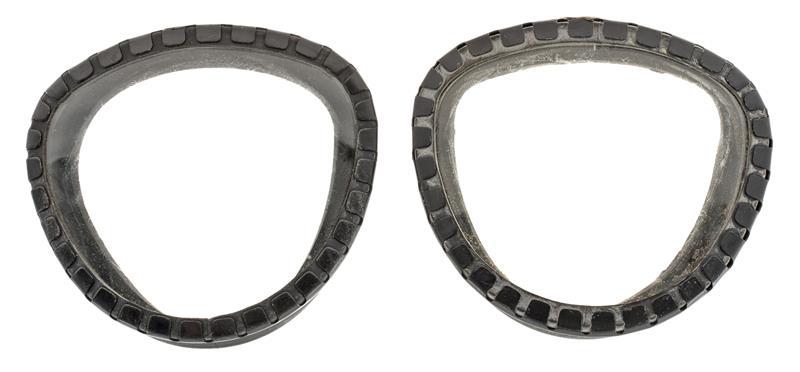 Eye Lens & Outsert Set, Pair, M17/M17A1/M17A2 Gas Mask