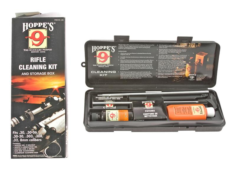 Hoppe's Rifle Cleaning Kit, .30 Caliber, New