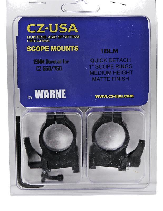 Scope Rings, Warne, 1