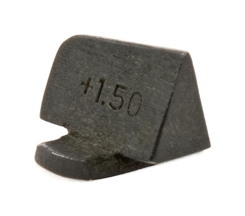 Front Sight, 7mm, Barley Corn Type (Stamped +1.50)
