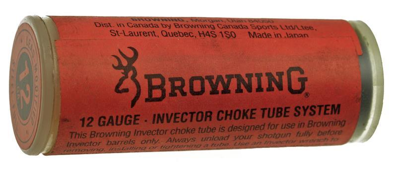 Choke Tube, 12 Ga., Standard Invector, Lead Mod, Steel Full, Used Factory