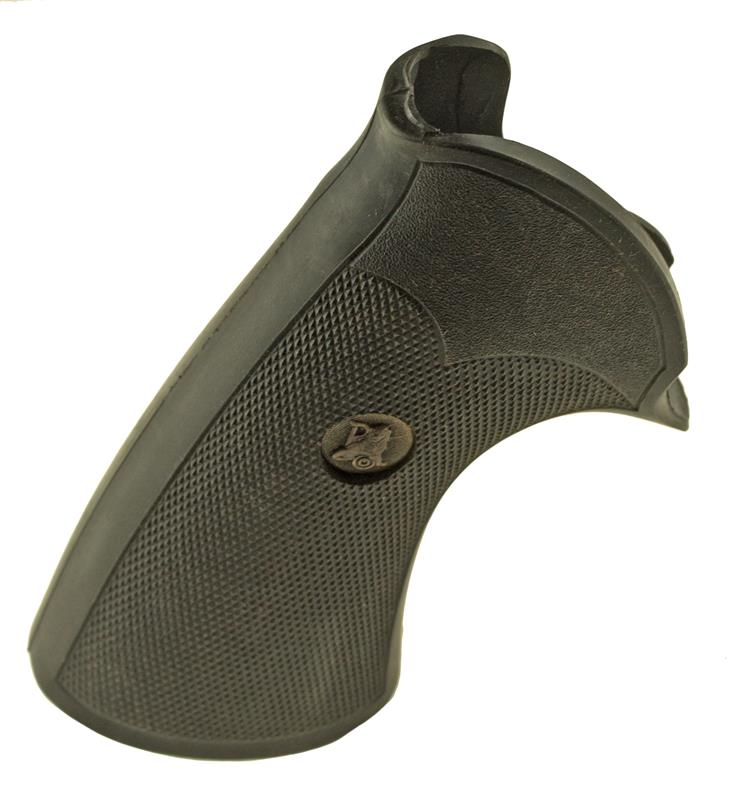 Grips, .44 Mag, Pachmayr, Black Checkered w/Medallion - Screw not Included