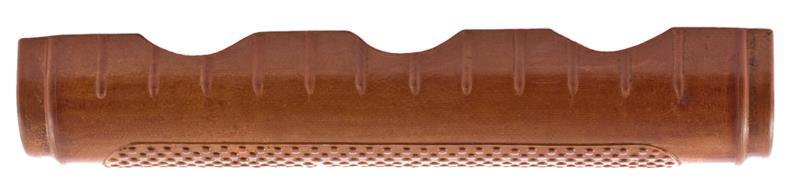 Handguard, Chinese, Reddish Brown Plastic w/ Pebble Finish Grip
