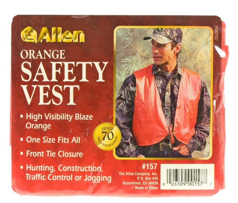 Safety Vest, Plastic