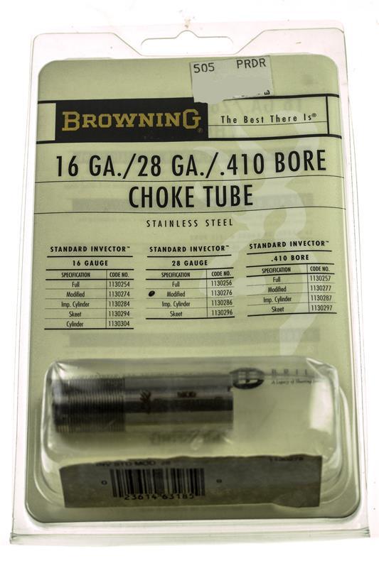 Choke Tube, 28 Ga., Modified, Standard Invector