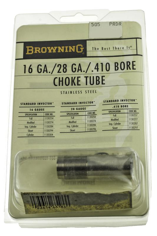 Choke Tube, 28 Ga., Improved Cylinder, Standard Invector