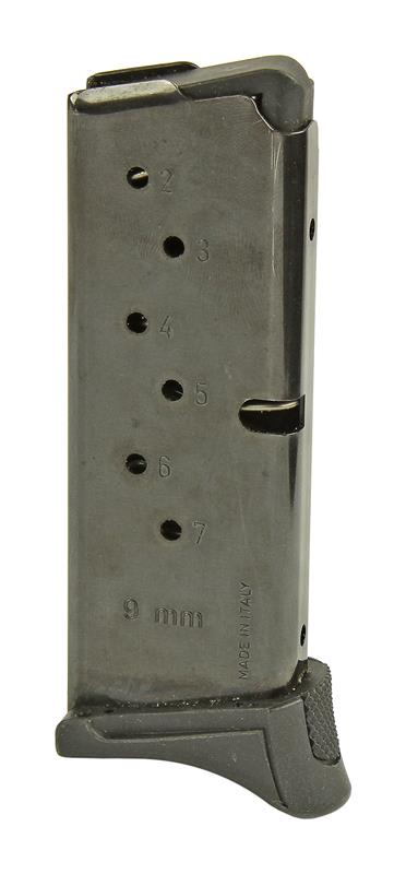 Magazine, 9mm, 7 Round, Blued, New (Factory)