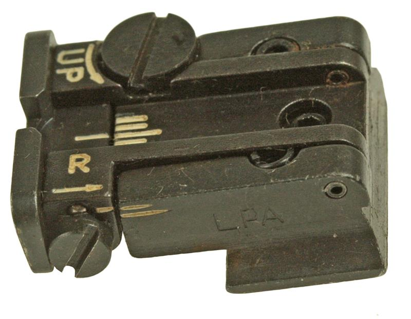 Rear Sight, Adjustable