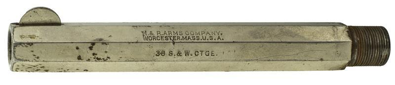 Barrel, .38 Rimfire, 4-1/2'', 5 Shot, Octagon, Large Frame, Nickel