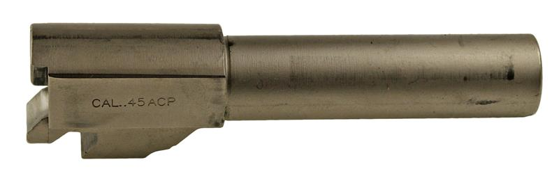 Barrel, .45 ACP, Nickel (For Slides w/o Loaded Chamber Indicator)