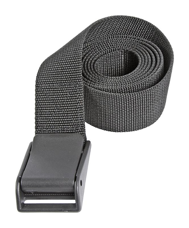 Belt, Utility, Black Nylon, 1-1/2
