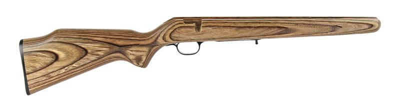 Stock, .22 LR/ .17 Mach 2, Brown Laminated