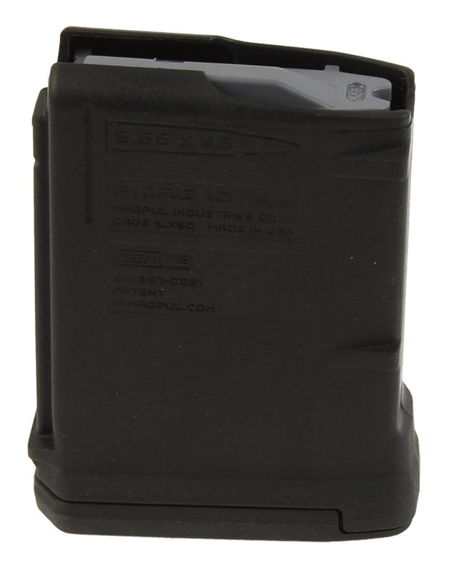 Magazine, 5.56/.223, 10 Round, Gen M3, Black Polymer (Mfg by Magpul)