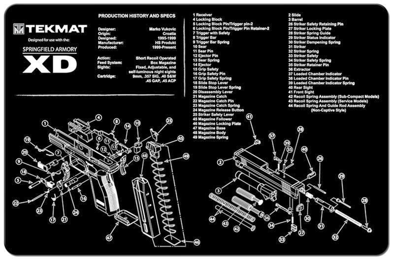 TekMat Handgun Mat, 11