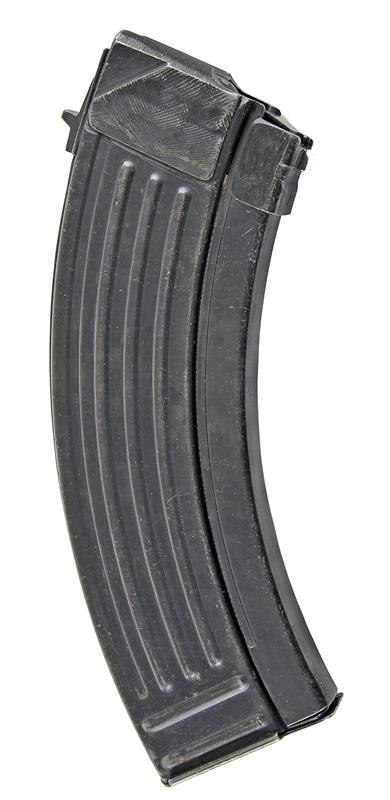 Magazine, 7.62 x 39, 30 Round, Blued, Used (w/ Bolt Hold Open; Yugoslavian)