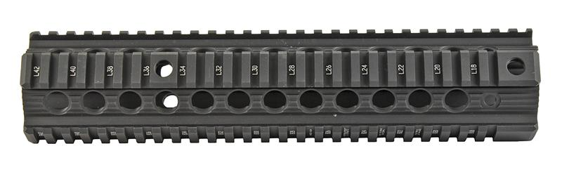 Bravo Battlerail Freefloat Quad Rail Handguard, Black Aluminum (Troy Ind.)
