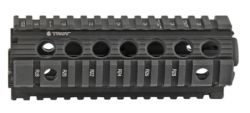 Modular Rail Forend, Carbine Length, Black Aluminum, New (Troy Ind.)