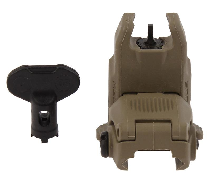 MBUS Front Sight, New, Flat Dark Earth (Magpul)