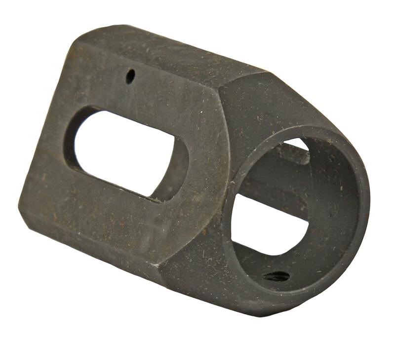 V-Match Front Sight Gas Block, Triangular, New, Black (Bushmaster)
