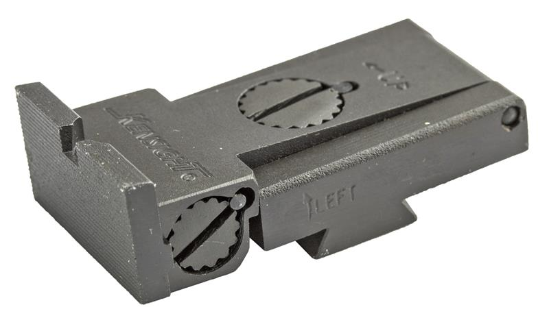 Rear Sight, Adjustable, Squared Blade (Fits LPA TRT Sight Cut; Kensight)