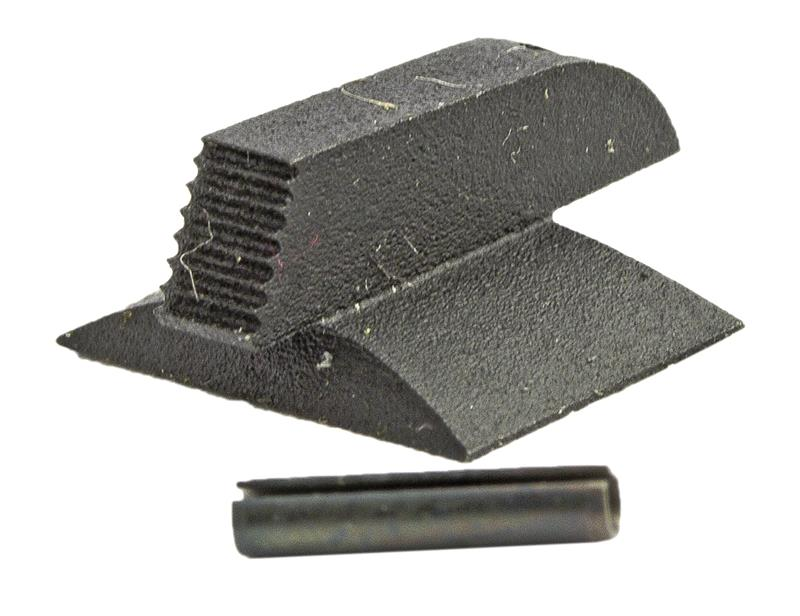 Front Sight, Dovetail, Serrated, Contoured Base (.150