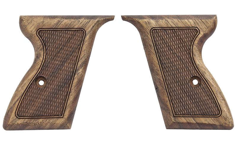 Grips, Checkered English Walnut, New Reproduction