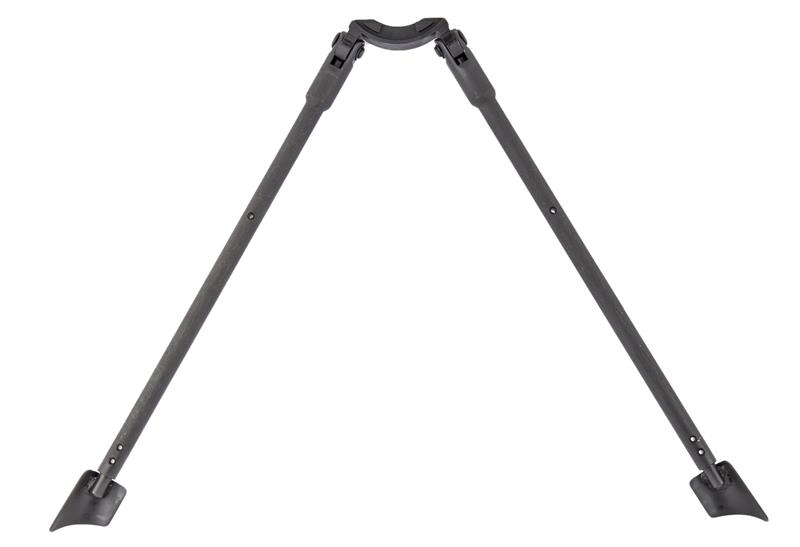 Bipod, Original German Mfg. by HK, Lightweight Blued Steel - For Wide Handguards