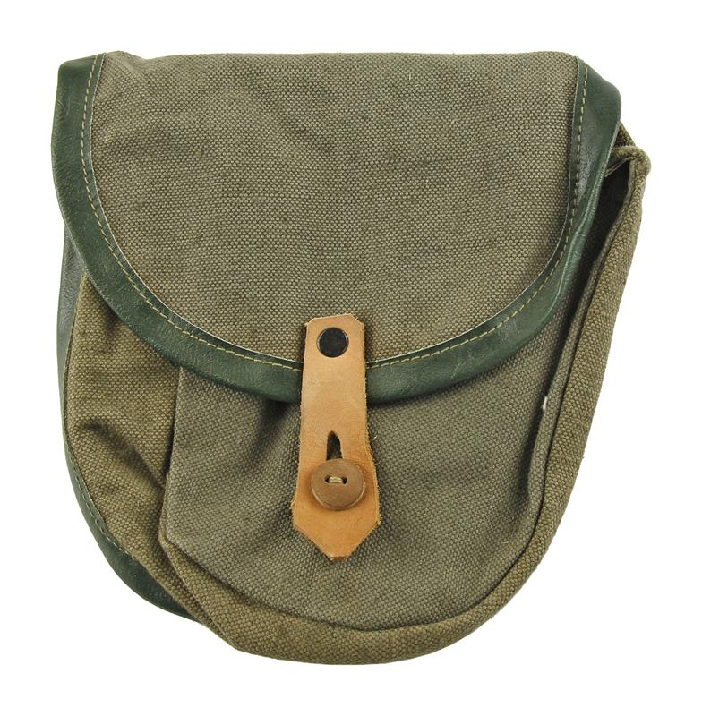 Drum Pouch, Used Good Condition, Canvas w/Beltloops&Button Closure, Colors Vary