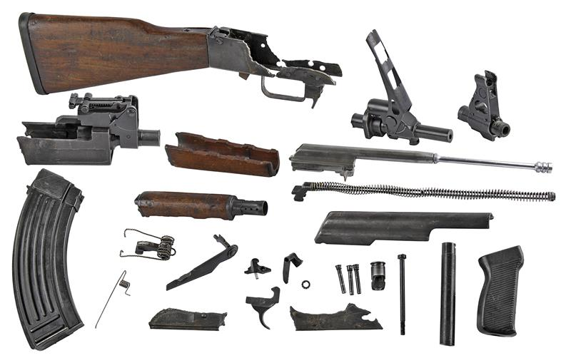 Complete Parts Kit - Includes Demilled Receiver & Demilled Barrel w/30