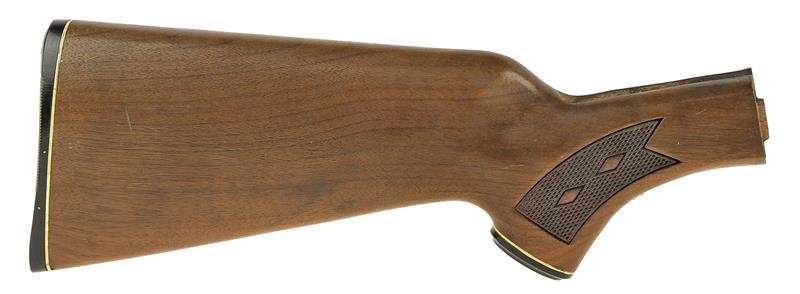 Stock, Checkered w/Buttplate & Pistol Grip Cap
