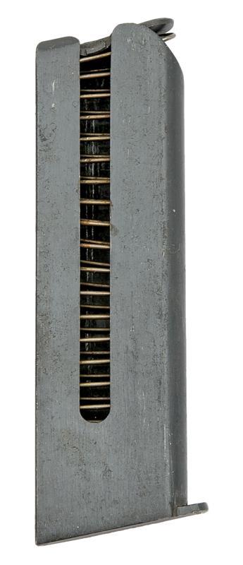 Magazine, 9mm Long, 6 Round, Blued, Used (Factory)