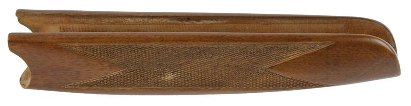 Forend, 20 Ga., Cut Checkered, Satin Finish Walnut w/ Escutcheons