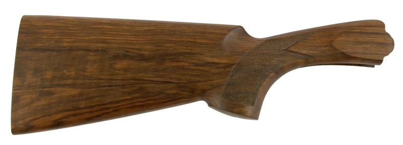 Stock, 12 Ga., RH, 35/55 Drop, Skeet, Checkered Walnut, Oil Finish w/o Pad