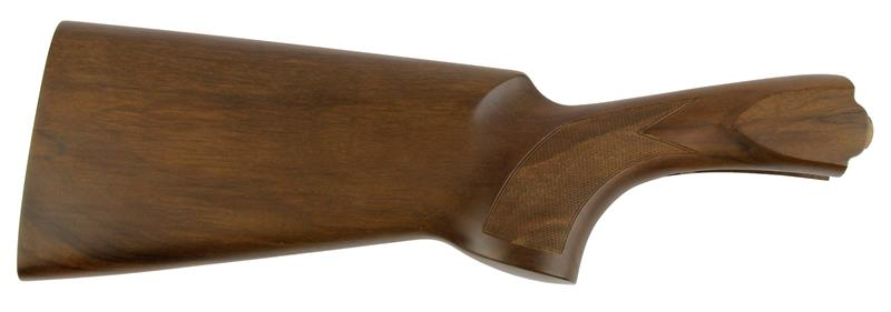 Stock, 12 Ga., RH, Trap, 32/42 Drop, Cut Checkered Walnut, Satin Finish w/o Pad