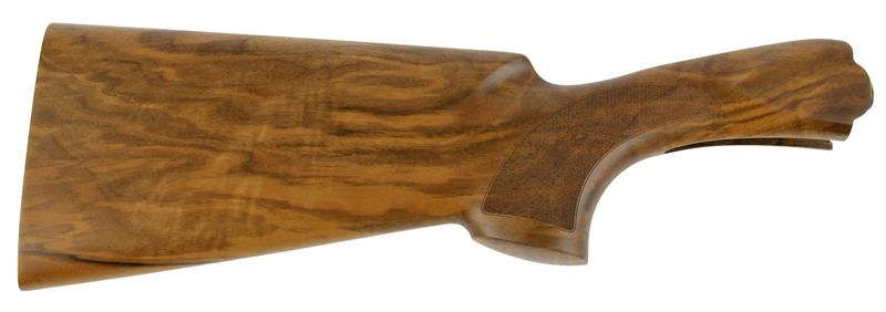 Stock, 12 Ga., LH, 32/42 Drop, Trap, Cut Checkered Walnut, Oil Finish w/o Pad