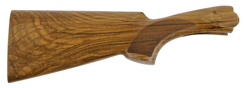 Stock, 12 Ga., LH, 35/55 Drop, Sporting, Cut Ckrd Walnut, Oil Finish no Pad