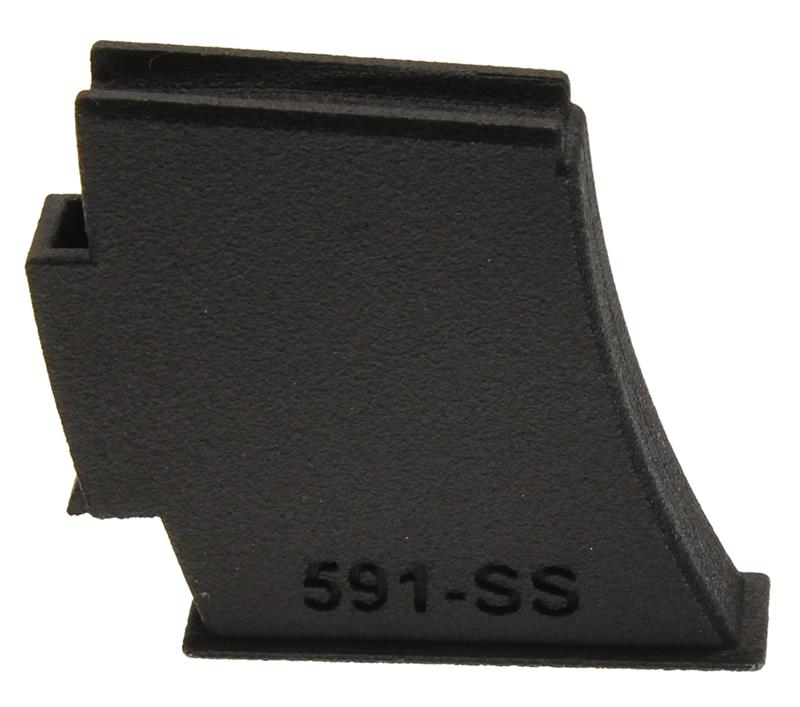 Magazine Style Single Shot Adapter, 5mm RemMag, Black Nylon, New (Trekker)